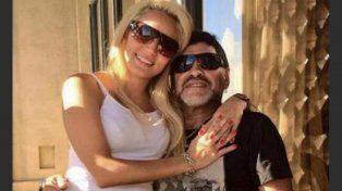 Maradona aclaró que pasa hermosos días junto a su familia.
