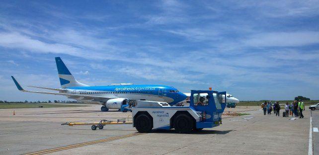 En la mira. En el aeropuerto de Fisherton operarán nuevas empresas.