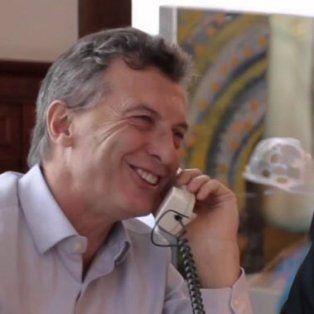 Aló presidente. Los presidentes de Argentina y EEUU preparan un encuentro cara a cara en el corto plazo.