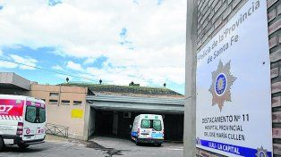 Destacamento. El hospital Domingo Cullen de Santa Fe ya cuenta con un puesto policial
