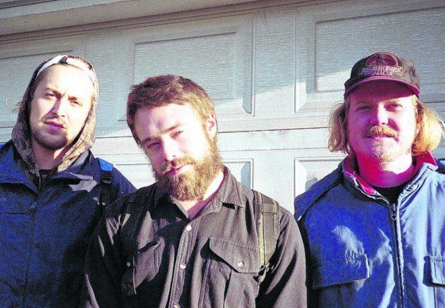 La banda canadiense Walter TV, hoy en Lavardén
