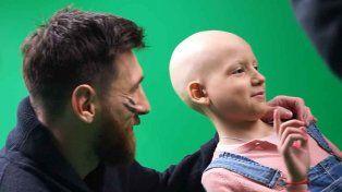 Messi lanzó campaña para abrir un centro de tratamiento del cáncer infantil