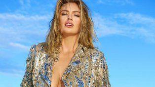 Kate Upton posó en topless para la revista que la llevó a la gloria