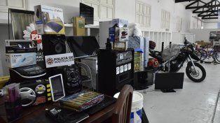 Numerosos bienes fueron secuestrados por la PDI.