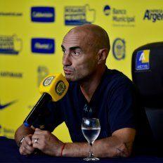 Montero confirmó una inédita dupla de centrales para el partido del sábado ante Vélez.
