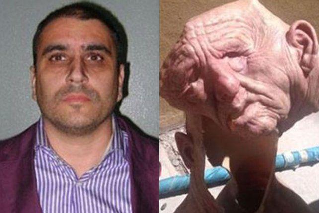 Suárez fue arrestado en Córdoba. Una de las máscaras que usó para una fuga hace años.