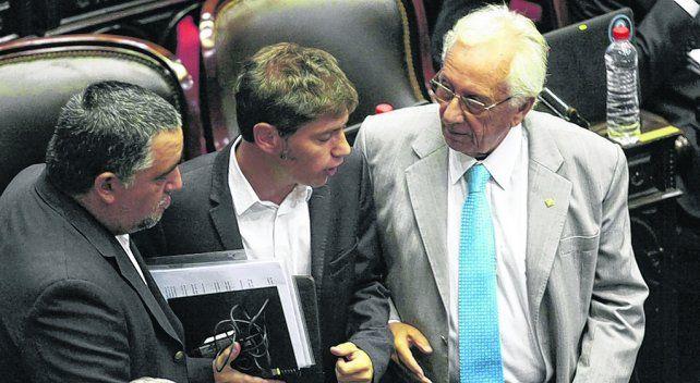 Bancada K. El bloque kirchnerista volvió a atacar duramente a Macri por el tema de la deuda del Correo.