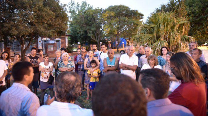 Preocupados. Los vecinos sienten desprotección. La comuna hizo propuestas para aumentar la seguridad.