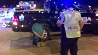 El narco paraguayo cayó durante un operativo de la Policía de Seguridad Vial.