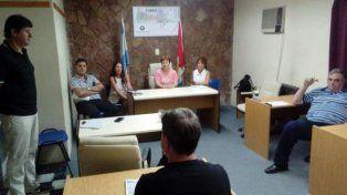 Cónclave. Concejales y funcionarios mantuvieron una reunión por más de dos horas de arduo debate.