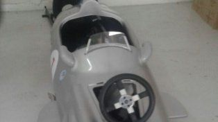 Explican el misterio de la réplica del auto de Fangio secuestrado en la megaestafa