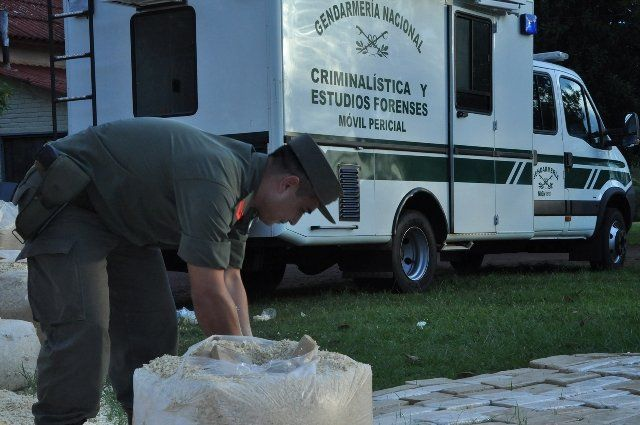 Personal de Gendarmería Nacional llevaba adelante un procedimiento de rutina.