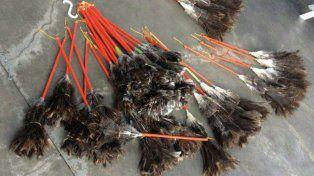 El mejor producto posible. Las plumas de avestruz fueron compradas a un proveedor que las trae de Africa.
