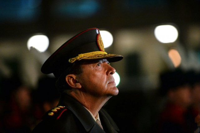 Militar tras las rejas. Milani está acusado por el secuestro y tortura de tres personas en La Rioja durante la última dictadura militar.