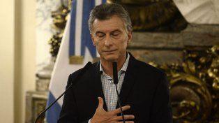 Crítico. Macri dijo que en Venezuela no se respetan los derechos humanos.