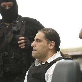 Preocupado. Cada vez que el tribunal expuso una escucha, Diego Ochoa dio las explicaciones del caso.