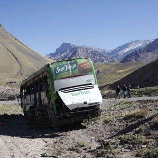 El lugar. El colectivo de la compañía TurBus viajaba con 40 pasajeros. Los dos choferes resultaron ilesos y quedaron detenidos.