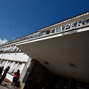 El asaltante herido quedó internado en el hospital Eva Perón, de Granadero Baigorria.