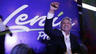 Buscando al sucesor de Correa. Moreno celebra los boca de urna.