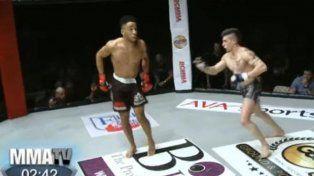 El inglés Harding sobró la pelea ante el francés Segas y se llevó la peor parte.