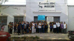 Reclaman por la continuidad de un cargo docente de la Escuela 1204 de Villa Gobernador Gálvez