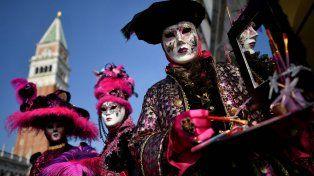 El Carnaval de Venecia en imágenes