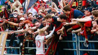 Los hinchas del Atlanta United esperan ansiosos por el debut del equipo en la MLS.