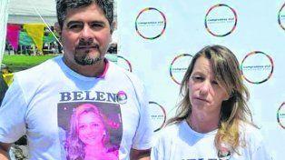 Dolor. Los padres de Belén denunciaron al conductor que provocó la muerte de su hija, que había apelado días atrás la condena judicial.