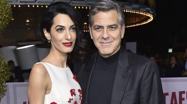 George Clooney rompió el silencio y habló por primera vez de su futura paternidad