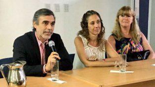 El ministro de Salud provincial, Miguel González, puso en funciones al frente del Iapos a Soledad Rodríguez.