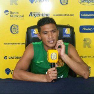 Polémico. Teo Gutiérrez afirmó que se quedó para darle lo mejor a Central.