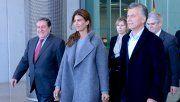 El presidente Mauricio Macri llegó a España junto a la primera dama, Juliana Awada.