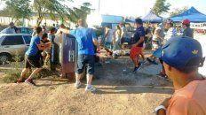 un argentino atropello y mato a un hombre en una picada clandestina en chile