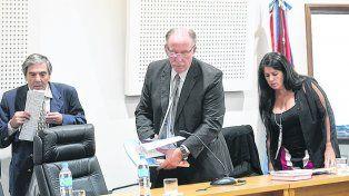 Tribunal. Los jueces Julio Kesuani