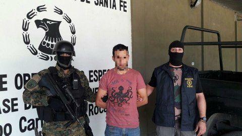 atrapado. El procesado Pablo Espíndola está otra vez tras las rejas.