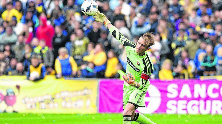 El adiós . Unsain debutó en 2015 y demostró condiciones. Desde la fractura con Boca quedó relegado.