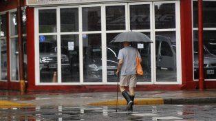 El SMN pronostica otra jornada de lluvia para la ciudad.