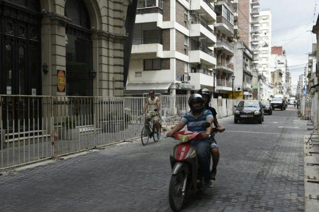 El tránsito por Mendoza
