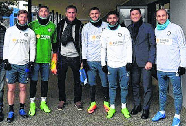 En Milán. Ansaldi