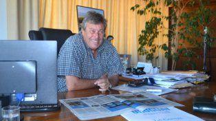 El intendente de Maldonado, Uruguay.