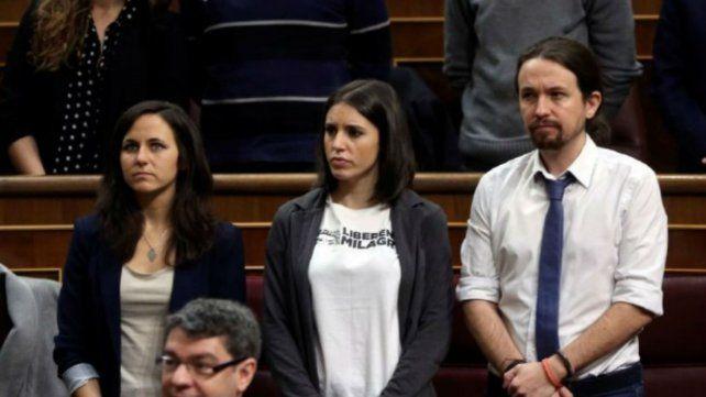 La izquierda española pidió por la liberación de Milagro Sala
