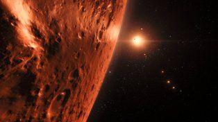 Artistas comenzaron a representar el nuevo sistema solar.