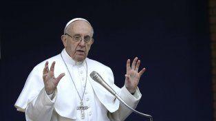 El Papa Francisco habló ante los fieles.