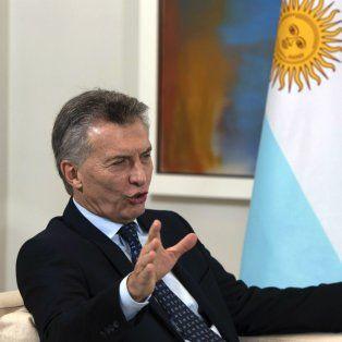 El presidente Macri, de visita en España.