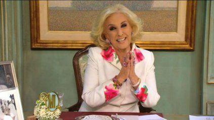 Este año la diva sorprendió al reconocer su edad en el inicio de uno de sus famosos almuerzos.
