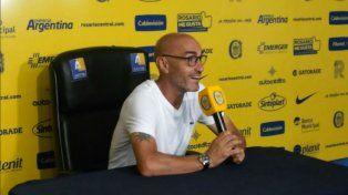 El entrenador de Rosario Central, Paolo Montero.