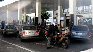 Definen el nivel del aumento en el precio de los combustibles