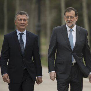 macri y rajoy hablaron de vinculo estrategico entre argentina y espana