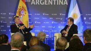 Macri habla