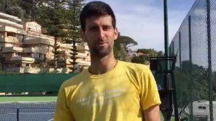 Djokovic filmó de manera involuntaria una discusión con su mujer y salió por Facebook Live